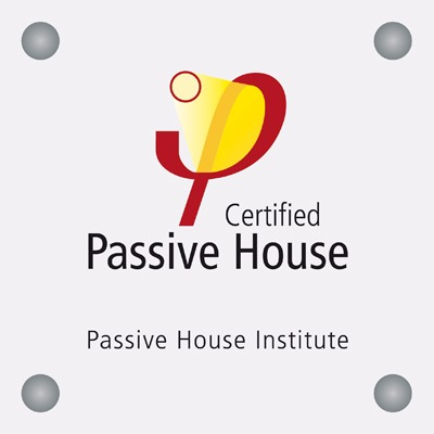 Certified Passive House from Passive House Institute